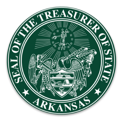 The Green Treasurer of State Seal