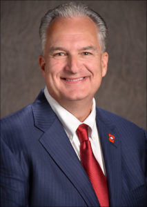 Photo of Treasurer Dennis Milligan